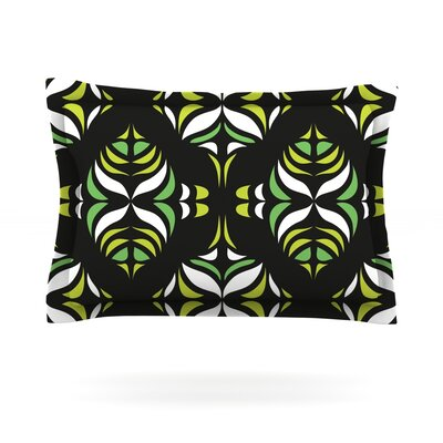Retro Train by Miranda Mol Featherweight Pillow Sham Size: Queen, Fabric: Cotton