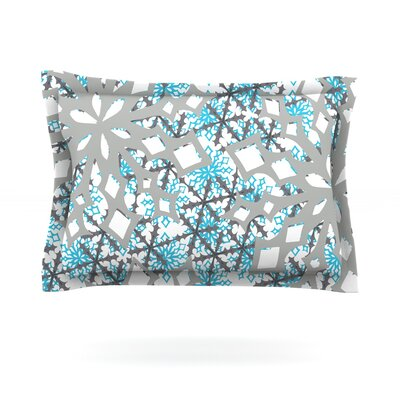 Chilly by Miranda Mol Featherweight Pillow Sham Size: King, Fabric: Cotton