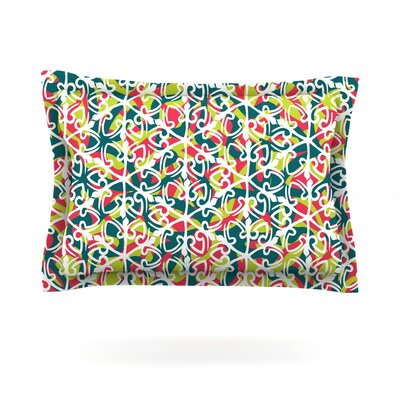 Cool Yule by Miranda Mol Featherweight Pillow Sham Size: Queen, Fabric: Cotton
