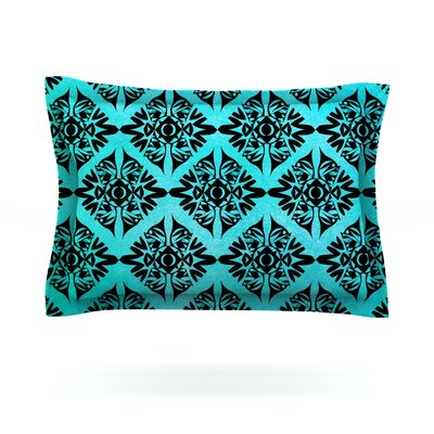 Eye Symmetry Pattern by Pom Graphic Design Featherweight Pillow Sham Size: King, Fabric: Cotton