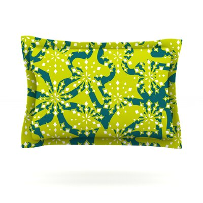 Festive Splash by Miranda Mol Featherweight Pillow Sham Size: Queen, Fabric: Cotton