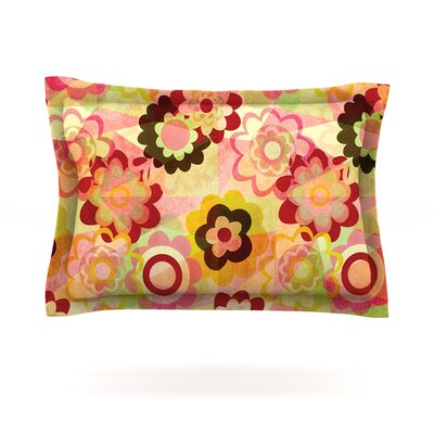 Colorful Mix by Louise Machado Featherweight Pillow Sham Size: Queen, Fabric: Cotton