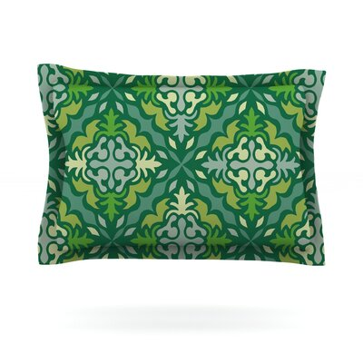 Yulenique by Miranda Mol Featherweight Pillow Sham Size: King, Fabric: Cotton