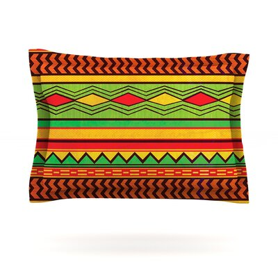 Egyptian by Louise Machado Featherweight Pillow Sham Size: Queen, Fabric: Cotton