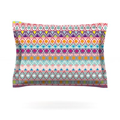 Ayasha by Nika Martinez Featherweight Pillow Sham Size: King, Fabric: Cotton