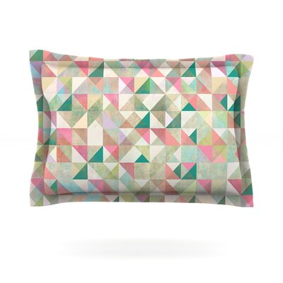 Graphic 75 by Mareike Boehmer Featherweight Pillow Sham Size: Queen, Fabric: Cotton