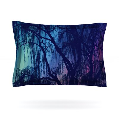 Weeping by Robin Dickinson Featherweight Pillow Sham Size: Queen, Fabric: Cotton