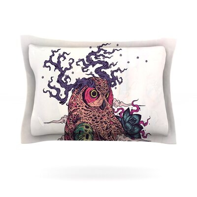Regrowth by Mat Miller Featherweight Pillow Sham Size: Queen, Fabric: Cotton