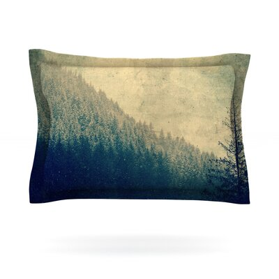 Any Road Will Do by Robin Dickinson Featherweight Pillow Sham Size: Queen, Fabric: Cotton