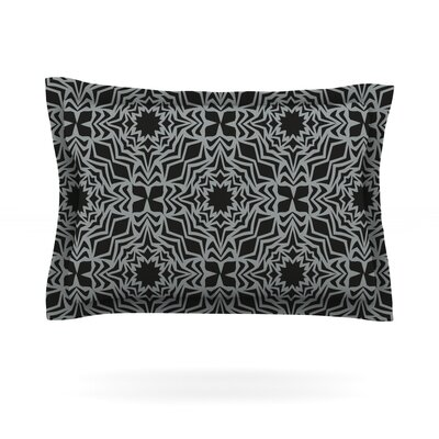 Optical Fest by Miranda Mol Featherweight Pillow Sham Size: Queen, Fabric: Cotton