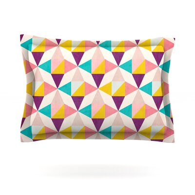 Amethyst by Louise Machado Featherweight Pillow Sham Size: Queen, Fabric: Cotton