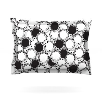Beaded Bangles by Nandita Singh Featherweight Pillow Sham Size: Queen, Fabric: Cotton