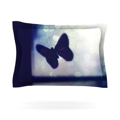 Enchanted by Robin Dickinson Featherweight Pillow Sham Size: Queen, Fabric: Cotton