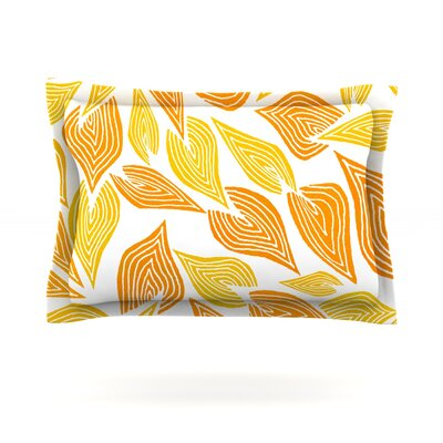 Autumn by Pom Graphic Design Featherweight Pillow Sham Size: King, Fabric: Cotton