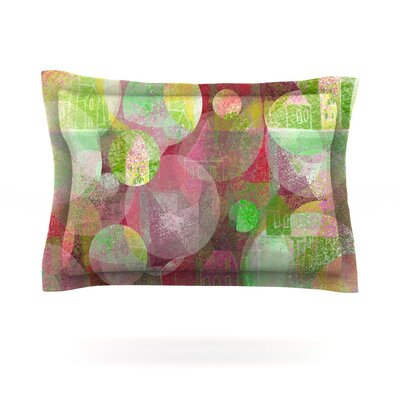 Dream Place by Marianna Tankelevich Featherweight Pillow Sham Size: King, Fabric: Cotton