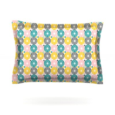 Christmas Celebration by Nandita Singh Featherweight Pillow Sham Size: King, Fabric: Cotton
