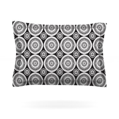 Circles by Nandita Singh Featherweight Pillow Sham Size: King, Fabric: Cotton