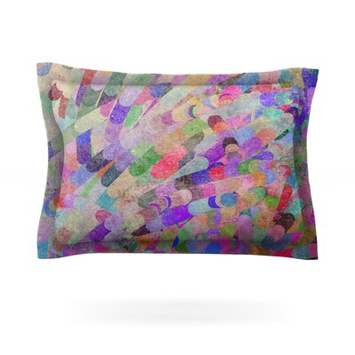 Abstract by Marianna Tankelevich Featherweight Pillow Sham Size: King, Fabric: Cotton