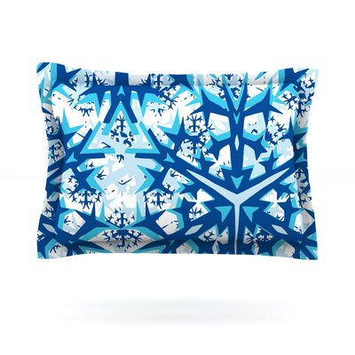 Winter Mountains by Miranda Mol Featherweight Pillow Sham Size: King, Fabric: Cotton