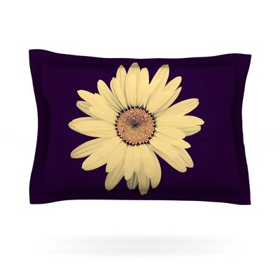 Half Crazy by Robin Dickinson Featherweight Pillow Sham Size: King, Fabric: Cotton