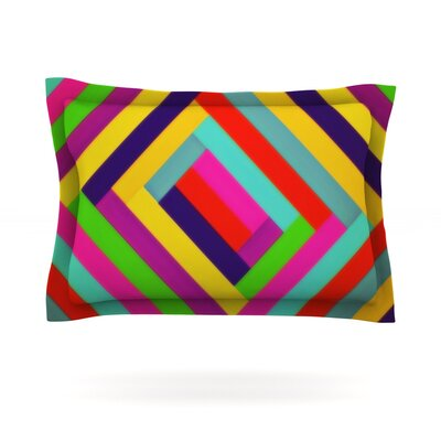 Nakriv by Trebam Featherweight Pillow Sham Size: Queen, Fabric: Cotton