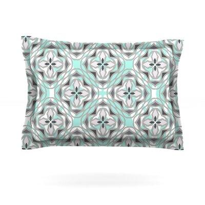 Winter Pool by Miranda Mol Featherweight Pillow Sham Size: King, Fabric: Cotton