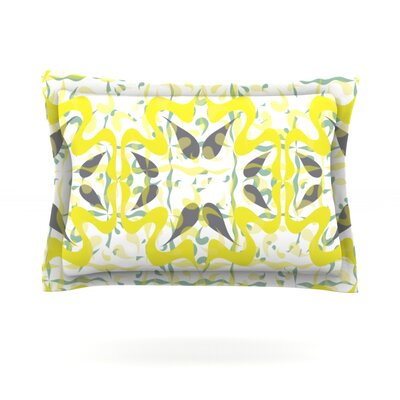 Azulejos by Miranda Mol Featherweight Pillow Sham Size: King, Fabric: Cotton