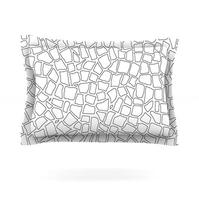 British Mosaic by Project M Featherweight Pillow Sham Size: Queen