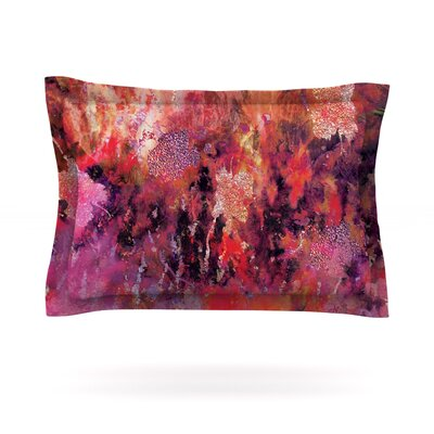 Indian City by Nikki Strange Featherweight Pillow Sham Size: King, Fabric: Cotton