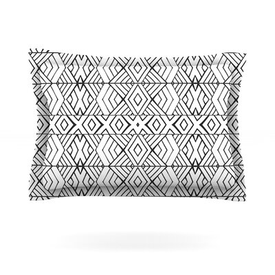 Tribal Expression by Pom Graphic Design Pillow Sham Size: King, Fabric: Woven Polyester