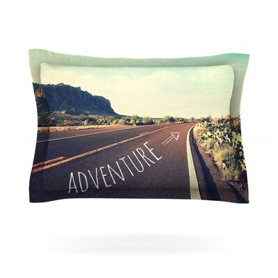 Adventure by Sylvia Cook Featherweight Pillow Sham Size: Queen, Fabric: Cotton