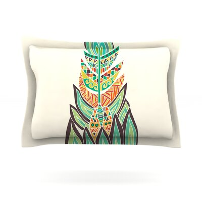 Tribal Expression by Pom Graphic Design Pillow Sham Size: King, Fabric: Cotton