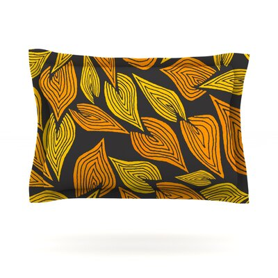 Autumn II by Pom Graphic Design Featherweight Pillow Sham Size: Queen, Fabric: Cotton
