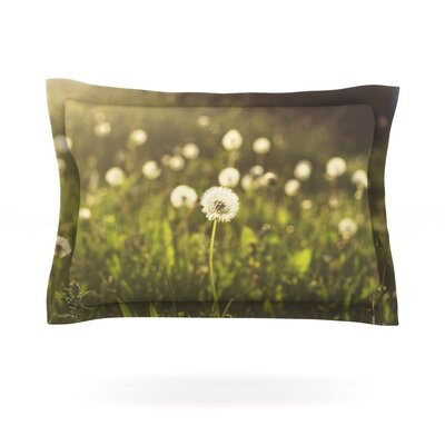 As You Wish by Libertad Leal Featherweight Pillow Sham Size: King, Fabric: Cotton