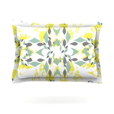 Springtide by Miranda Mol Featherweight Pillow Sham Size: Queen, Fabric: Cotton