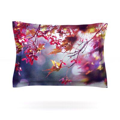 Autumn by Sylvia Cook Featherweight Pillow Sham Size: King, Fabric: Cotton