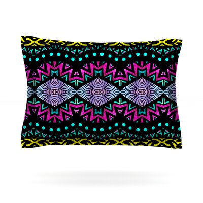 Tribal Dominance by Pom Graphic Design Featherweight Pillow Sham Size: Queen, Fabric: Cotton