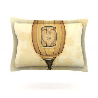 Her by Matthew Reid Featherweight Pillow Sham Size: King, Fabric: Cotton