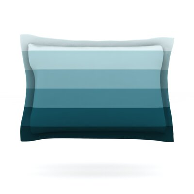 Cijan by Trebam Featherweight Pillow Sham Size: Queen, Fabric: Cotton
