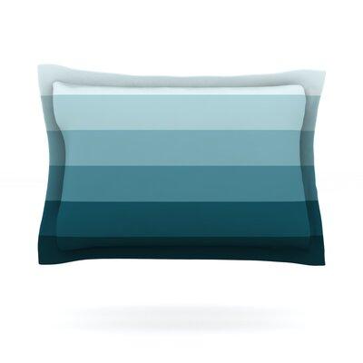 Cijan by Trebam Featherweight Pillow Sham Size: King, Fabric: Cotton