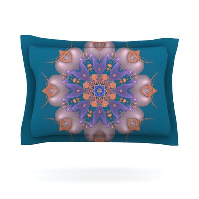 Whisker Lily by Michael Sussna Featherweight Pillow Sham Size: King, Fabric: Cotton