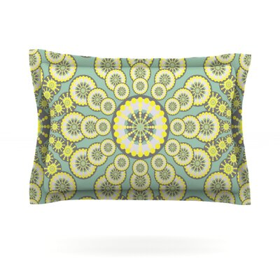 Equinox by Miranda Mol Featherweight Pillow Sham Size: King, Fabric: Cotton