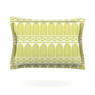 Tribal by Nandita Singh Featherweight Pillow Sham Size: Queen, Fabric: Cotton