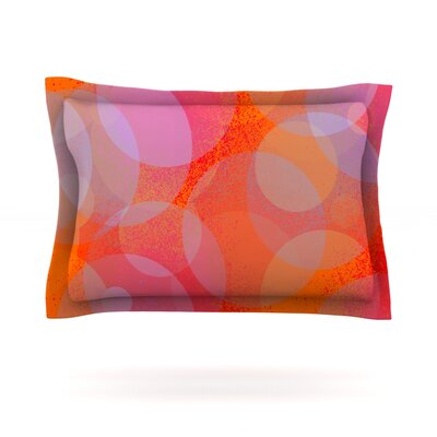 Six by Marianna Tankelevich Featherweight Pillow Sham Size: Queen, Fabric: Cotton