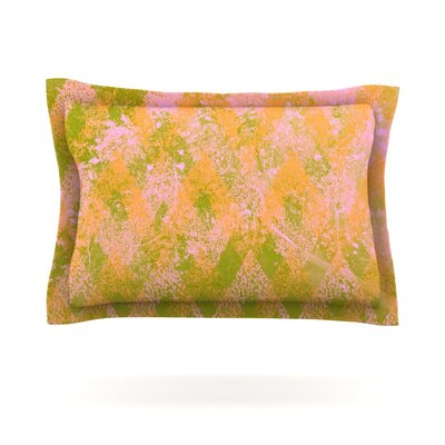 Fuzzy Feeling by Marianna Tankelevich Featherweight Pillow Sham Size: Queen, Fabric: Cotton