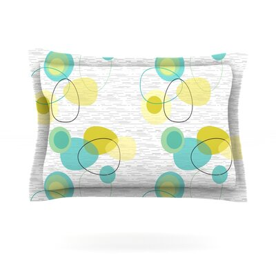 Vaniretro by Nina May Featherweight Pillow Sham Size: King, Fabric: Cotton