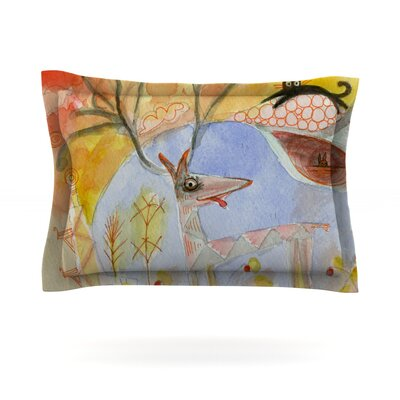 Promise of Magic by Marianna Tankelevich Featherweight Pillow Sham Size: Queen, Fabric: Cotton