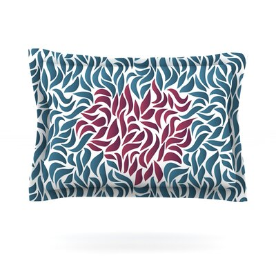 Desire by Nick Atkinson Featherweight Pillow Sham Size: King, Fabric: Cotton