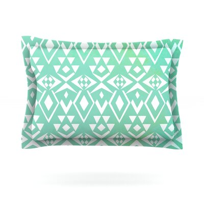 Ancient Tribe by Pom Graphic Design Featherweight Pillow Sham Size: King, Fabric: Cotton