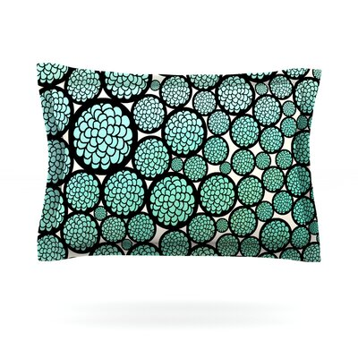 Blooming Trees by Pom Graphic Design Featherweight Pillow Sham Size: King, Fabric: Cotton